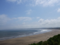 View of Filey beach from the Cliff Top